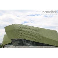 Special Form Glazed Terracotta Facade Panels With Special Design And Special Shape Manufactures