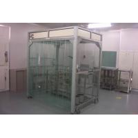 Quality Aluminum Alloy / Stainless Steel Clean Room Equipment PVC Softwall Clean Booth for sale