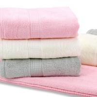 Smooth Durable Organic Cotton Towels Popular Dobby Style Cotton Terry Towel Manufactures