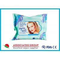 Facial Natural Makeup Remover Wipes Feminine Hygiene Unscented Biodegradable Manufactures