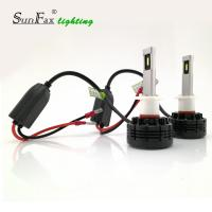 Aluminum Material H1 LED Headlight Bulb , 36w 24V / 12v LED Bulbs For Cars Manufactures