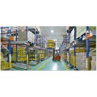 Warehouse High Density Cold Storage System Large Capacity Customized Color