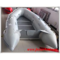 EU CE approved aluminum floor inflatable boat and 2.9m inflatable fishing boat Manufactures