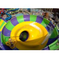 Indoor Or Outdoor Swimming Pool Water Slides Super Bowl For 2 People Manufactures