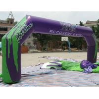 Outdoor Large Advertising Inflatable Arch With Oxford Cloth Manufactures