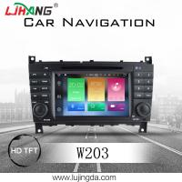 Android 8.0 Mercedes Benz DVD Player With 4+32G BT WIFI DTV Google Map TPMS Manufactures