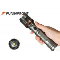 900 LMs CREE T6 Rechargeable Zoom Tactical Flashlights for Sale Manufactures