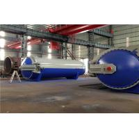 Pneumatic Laminated Vulcanizing Autoclave , Pressure In Autoclave By PLC Controller Manufactures