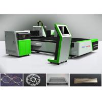 China 500 W 700w Metal Laser Cutting Machine / Fiber Laser Cutting Equipment 3000mm × 1500mm on sale
