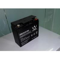 Electric scooter / Inverter Rechargeable Sealed Lead Acid Battery 12v 17ah 6FM17H Manufactures