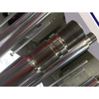 Micro Alloy Steel Chrome Piston Rod Chrome Plating With High Strength Manufactures