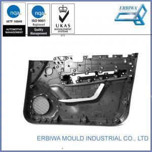 IATF 16949 Certificated Auto Interior Trim Molding , Car Body Molding Black Car Plastic Door Part Manufactures