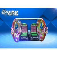 Outdoor Amusement Game Machines Family LeBar Car With Gorgeous Lights Manufactures