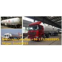 Quality Factory sale best price 56cbm propane gas transported trailer, HOT SALE! high for sale