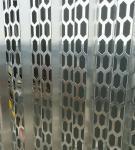 aluminio perforados exteriores para construir Decroration Manufactures