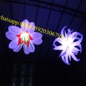 led flower , flower outdoor led lights , led flower, led balloon ,  inflatable flower, inflatable flower decoration Manufactures