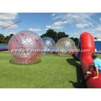 Outdoor Bubble Soccer Inflatable Aqua Zorb Ball For Zorb Racing Manufactures