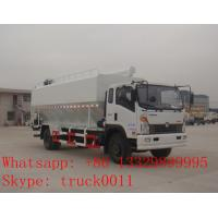 SINO TRUK Wangpai 22cbm bulk feed pellet transportation vehicle for sale,SINO TRUK 8tons-12tons animal feed truck Manufactures