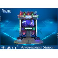 Indoor Coin Operated Dance Arcade Machine 2 Player 55 Inch LCD Screen Manufactures