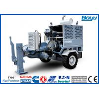 330KV Hydraulic Puller Stringing Machine and Tools for Overhead Power Lines 100kN 10T with Cummins Engine Manufactures