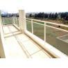 Swimming Pool Exterior Aluminum Railings , Outdoor Aluminum Hand Railing Manufactures