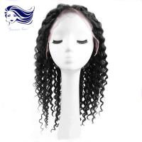 China Synthetic Short Human Hair Full Lace Wigs For Black Women , Swiss Lace on sale