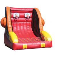 PVC Tarpaulin Outdoor Blow Up Inflatable Sports Games For Basketball Sporting Manufactures