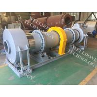 HZG Series Electric Rotary Dryer , Industrial Rotary Sludge Dryer 50 / 60Hz Manufactures