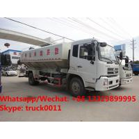2018s high quality and best price Euro 5 Dongfeng tianjin 4*2 LHD 10tons-12tons animal feed delivery truck for sale Manufactures