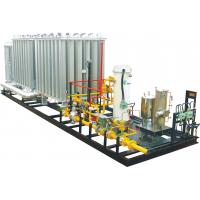 Outdoor Small Modularity Regulating Metering LNG Skid Mounted Equipment 0.2-3MPa Manufactures
