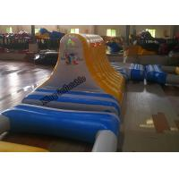 Quality PVC Certificate Giant Inflatable Water Toys Game , Outdoor Water Theme Park for sale