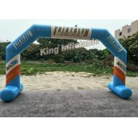 Inflatable Airtight Advertising Arch , Custom Inflatable Arch With PVC Tarpauline Material Manufactures