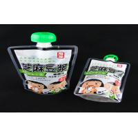 10L 5l 3l drinking water plastic pouch with spout , mineral / soymilk liquid packaging bags Manufactures