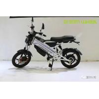 China Off Road Style Electric Moped Scooter , Motorised Battery Operated Scooter With Disc Brakes on sale