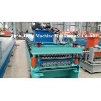 Quality Double Decking Roofing Sheet Forming Machine with hydraulic motor control for sale