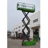 Self Propelled Scissor Lift With Extension Length 0.9m , 380Kg Theatre / Hospital Self Propelled Platform Manufactures