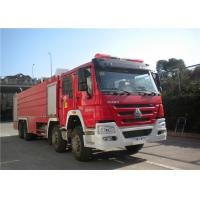 Darley Pump International Fire Truck , Lengthen Cab Fire Fighting Vehicles Manufactures