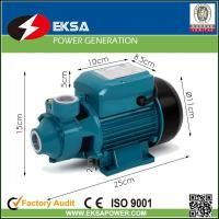 0.5HP single phase electric motor water pump with avoid impeller jam function Manufactures