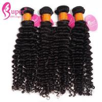 Mongolian Real Hair Weave Extensions 10A 11A Grade No Chemical Full Cuticle Manufactures