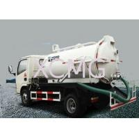 China Useful 5T Special Purpose Vehicles , 6.5L Custom Vacuum Septic Pump Truck For Irrigation on sale
