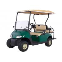 China 4 Wheel Mini Electric Car Golf Cart With 2 Rear Seats Powered By 48V Maintenance Batteries on sale
