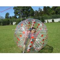 Adults Inflatable Bubble Ball , Exciting Loopy Ball Soccer With Red Cordlock Manufactures