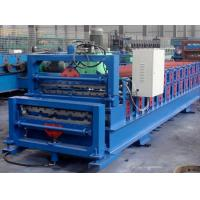 Quality Easy Installation Double Layer Roll Forming Machine , Tile Forming Machine for sale
