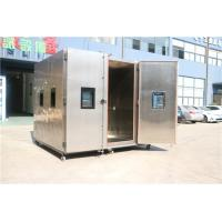 Quality Program Operation Standard Laboratory Walk-In Temperature Humidity Test Room SSR Control for sale
