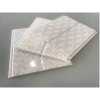White PVC Cladding Waterproof Wall Board Panels 20cm / 8 Inch OEM Service Manufactures