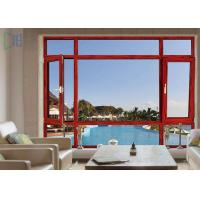 Low - E Aluminium Tilt And Turn Windows Double Glazed With Anti Theft Performance Manufactures