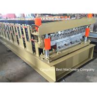 China Double Layer Profile Steel Roofing Sheet Roll Forming Machine 70mm Shaft Dia on sale