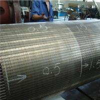 STAINLESS STEEL FISH DIVERSION SCREENS / DRUM SCREEN / JOHNSON SCREEN CYLINDER  FROM XINLU METAL WIRE MESH Manufactures