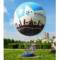 Printed Inflatable Hot Air Balloon Rides For 2 for Go Sightseeing , Hot Air Balloon Trips Manufactures