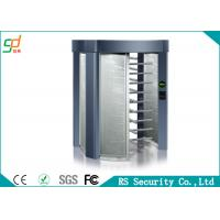 Stainless Steel Waterproof Full Height Turnstile Automatic Security Tri Channnel Manufactures